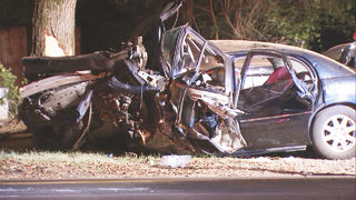 CMPD: Car sped away from traffic stop and crashed into tree, killing driver
