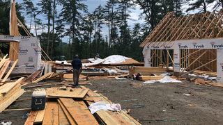 South Carolina home under construction collapses, 2 workers killed