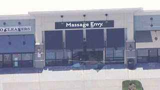 Disgruntled employee drives into North Carolina Massage Envy
