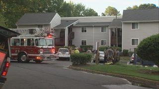 Firefighters: 3 people treated after fire at east Charlotte apartment complex