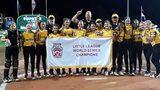 Salisbury celebrates Rowan Little League's softball World Series title