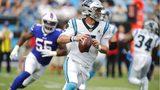 Allen, Johnson lead Bills past Newton-less Panthers 27-14