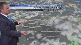 Sunday evening's forecast update by Meteorologist John Ahrens
