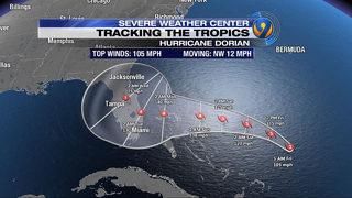 Hurricane Dorian live updates: Weakening storm wobbles