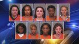Massive prostitution sting makes 15 arrests at hotel on state line