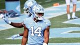 UNC football player who lives on the field of depression says 'talk about it'