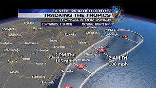 HURRICANE DORIAN UPDATES TRACKING: HURRICANE TRACKER: Dorian