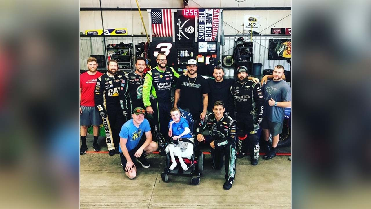 NASCAR community helps local teen with rare disease