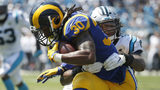 Goff, Gurley lead Rams to 30-27 win over Panthers in Charlotte