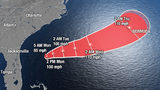 Humberto becomes Cat. 1 hurricane; rip current warnings along coast