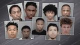 CMPD: 12 arrested connected to 25 armed robberies in Steele Creek