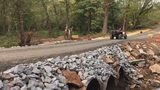 Community members come together to repair washed-out road in Catawba County