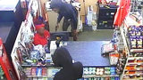 Pair forced store clerk into corner at gunpoint during robbery, CMPD says