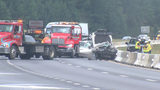 Woman killed, 2 injured in violent I-485 crash in south Charlotte