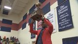 Mallard Creek HS celebrates Big 22 Player of the Year Trenton Simpson