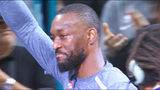 Kemba Walker brought to tears during emotional Charlotte return
