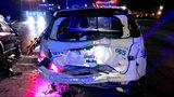 Officer hurt after drunken driver slams into CMPD cruiser blocking I-85