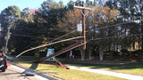 Power restored to more than 1,400 after crash took out pole in Matthews