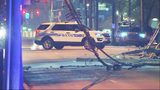 Portion of South Tryon Street near uptown closed due to downed power lines