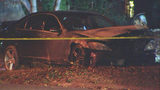Police ID man found shot to death inside burning car in northeast Charlotte
